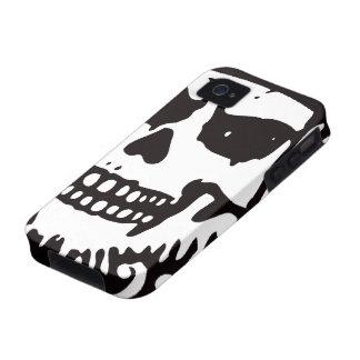 Caso del iPhone del cráneo Case-Mate iPhone 4 Fundas