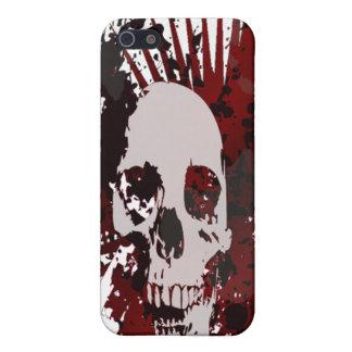 Caso del iPhone del cráneo iPhone 5 Carcasa