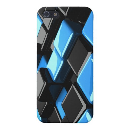 caso del iPhone del cubo 3D iPhone 5 Cobertura
