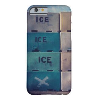 Caso del iphone del cubo de hielo funda para iPhone 6 barely there