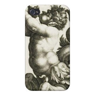 Caso del iPhone del cuerno de Shell de la concha d iPhone 4 Cárcasas