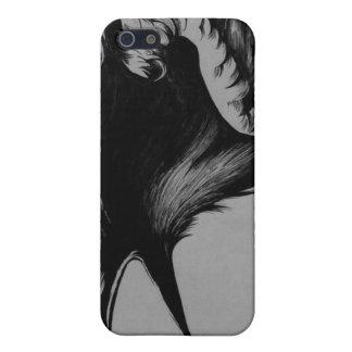 caso del iPhone del cuervo iPhone 5 Funda