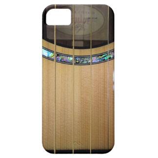 Caso del iPhone del detalle de la guitarra iPhone 5 Fundas