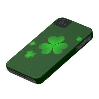 Caso del iphone del día de St Patrick Carcasa Para iPhone 4 De Case-Mate