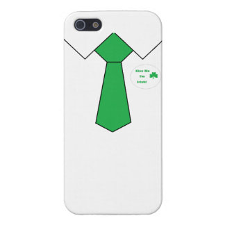 """""""Caso del iphone del día de St Patrick"""" iPhone 5 Fundas"""