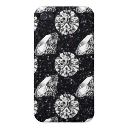 Caso del iPhone del diamante iPhone 4/4S Carcasa
