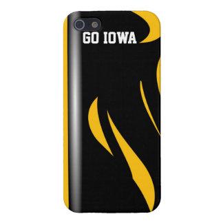 Caso del iphone del diseñador de Iowa iPhone 5 Cárcasa