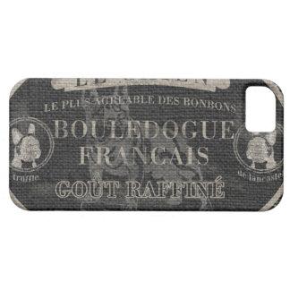Caso del iPhone del dogo francés iPhone 5 Protector
