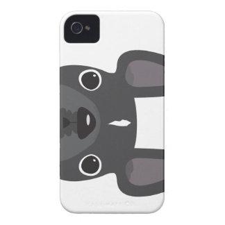 Caso del iPhone del dogo francés iPhone 4 Case-Mate Carcasas