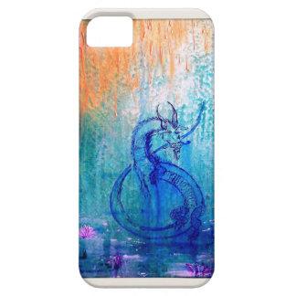 Caso del iPhone del dragón del baile iPhone 5 Protectores