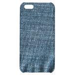 Caso del iPhone del dril de algodón