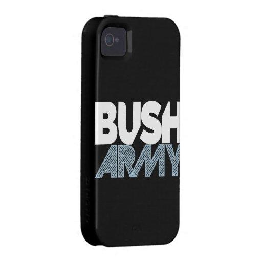 Caso del iPhone del ejército de Bush Funda Para iPhone 4/4S