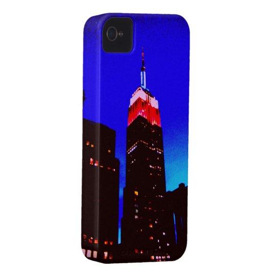 Caso del iPhone del Empire State Building Carcasa Para iPhone 4 De Case-Mate
