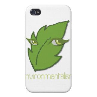Caso del iPhone del Environmentalism iPhone 4 Carcasas