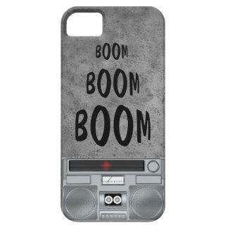 Caso del iPhone del equipo estéreo portátil de la iPhone 5 Carcasa