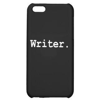 Caso del iPhone del escritor