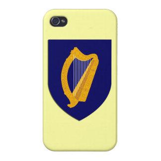 Caso del iPhone del escudo de armas de Irlanda iPhone 4/4S Carcasa