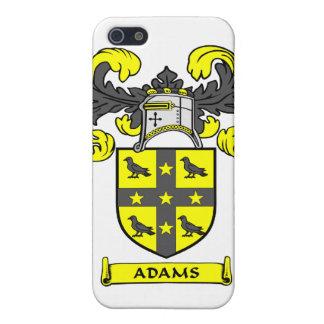 Caso del iPhone del escudo de la familia de Adams iPhone 5 Carcasa