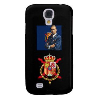 Caso del iPhone del escudo de Roytal del español d Funda Para Galaxy S4
