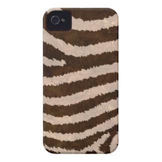 Caso del iPhone del estampado de zebra del estilo iPhone 4 Carcasas