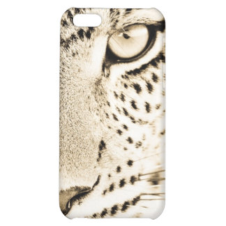 Caso del iPhone del estampado leopardo