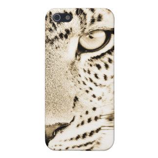 Caso del iPhone del estampado leopardo iPhone 5 Carcasa