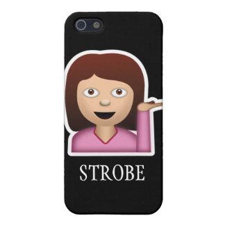 Caso del iPhone del estroboscópico iPhone 5 Funda