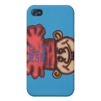 caso del iphone del fabricante del amor iPhone 4 carcasas