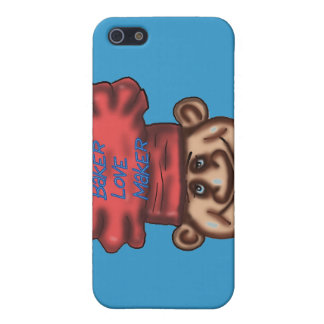 caso del iphone del fabricante del amor iPhone 5 funda