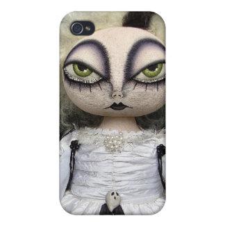 Caso del iPhone del fantasma del gótico iPhone 4 Carcasas