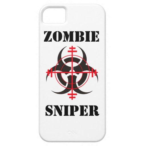 Caso del iPhone del francotirador del zombi iPhone 5 Cobertura