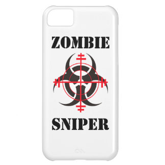 Caso del iPhone del francotirador del zombi Funda iPhone 5C