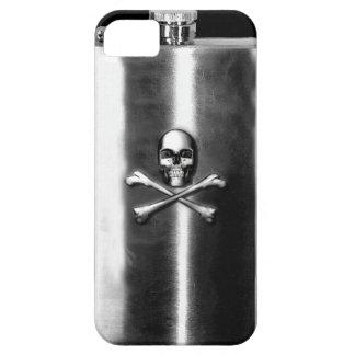 Caso del iPhone del frasco del pirata iPhone 5 Funda