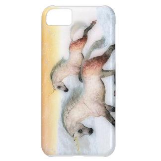Caso del iPhone del funcionamiento del unicornio Funda Para iPhone 5C