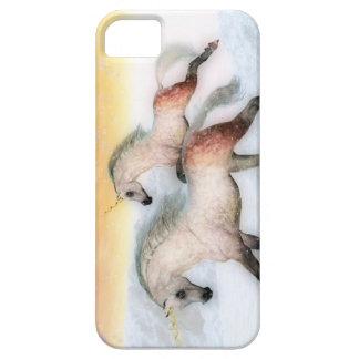 Caso del iPhone del funcionamiento del unicornio iPhone 5 Carcasas