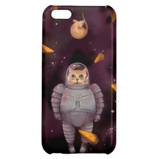 Caso del iPhone del gato del astronauta