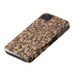 Caso del iPhone del grano de café iPhone 4 Case-Mate Cárcasa
