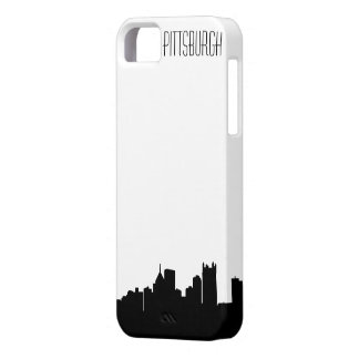 Caso del iPhone del horizonte de Pittsburgh iPhone 5 Case-Mate Carcasa
