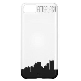 Caso del iPhone del horizonte de Pittsburgh Funda Para iPhone 5C