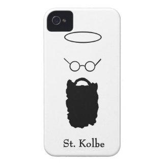 Caso del iphone del icono de la barba del St. iPhone 4 Case-Mate Carcasas