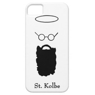 Caso del iphone del icono de la barba del St. iPhone 5 Carcasas