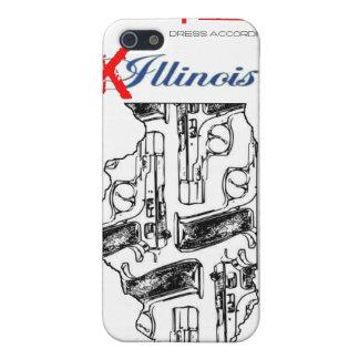 caso del iPhone del IE K illinois iPhone 5 Fundas