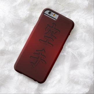 caso del iPhone/del iPad: 空手 del karate (kanji Funda Barely There iPhone 6