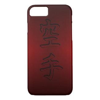 caso del iPhone/del iPad: 空手 del karate (kanji Funda iPhone 7