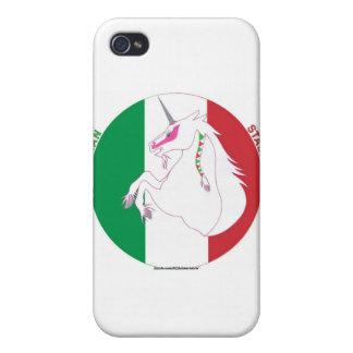 Caso del iPhone del italiano Semental-y del unicor iPhone 4/4S Fundas