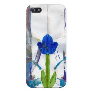 Caso del iPhone del jardín de la primavera iPhone 5 Protector