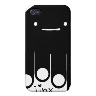 caso del iPhone del jinx iPhone 4 Fundas