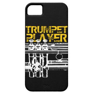 Caso del iPhone del jugador de trompeta iPhone 5 Case-Mate Cárcasas