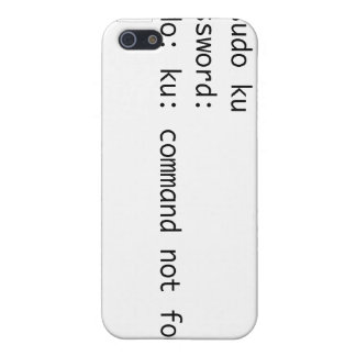 caso del iphone del ku del sudo iPhone 5 carcasas
