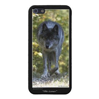 Caso del iPhone del lobo gris iPhone 5 Carcasas